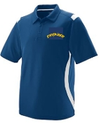 Thunder Baseball Mens Polo Augusta 5015
