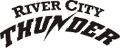 River City Thunder Baseball Car Decal