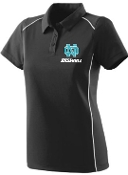 NOMS Baseball Textured knit Ladies wicking polo Aug 5092