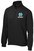 NOMS Baseball 9 oz. 1/4 zip sweatshirt ST 253