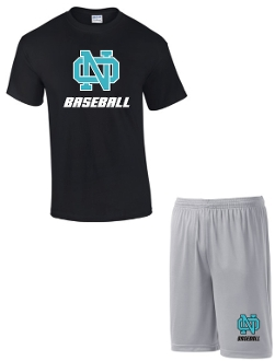 NOMS Baseball Player Pack practice shirt and shorts