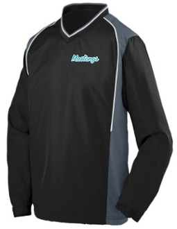 NOMS Mustangs Micro Poly Pullover Jacket 3745