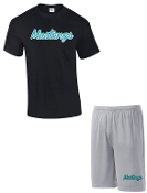 NOMS Mustangs Player Pack practice shirt and shorts