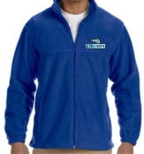 St. Albert spirit Embroidered Full zip Fleece M990