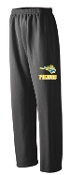 St. Albert spirit Black Open Bottom sweatpants G184
