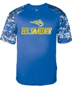 St. Albert spirit Camo moisture wicking t-shirt 4152