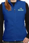 St. Albert spirit Womens Embroidered Fleece Vest L217