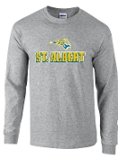 St. Albert Long sleeve Sport Gray T shirt G2400