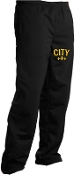 City Black track pants PST91
