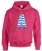 St. Albert Chevron Hooded sweatshirt Gildan G185