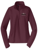 OSLS spirit Ladies 1/2 zip stretch pullover LST850
