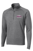 OSLS spirit Mens 1/2 zip stretch pullover ST850