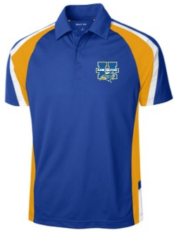 Hawthorne Elementary SanMar Mens embroidered polo ST654