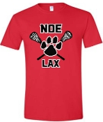 Noe Middle Lax 100% cotton Softstyle T shirt 64000