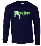 Highview Raptors Long sleeve T-shirt 50/50 blend G2400