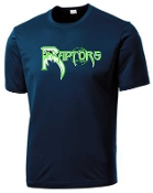Highview Raptors Cationic Moisture wicking T shirt ST 350