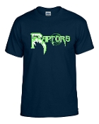 Highview Raptors 50/50 blend t shirt G8000