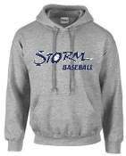 Louisville Storm Sport Gray Hooded Sweatshirt G185