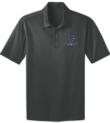 Louisville Storm Mens Light Steel Moisture wicking polo K540