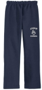 Louisville Storm Navy Open Bottom sweatpants G184