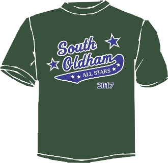 South Oldham All Star Booster/Parent t-shirt