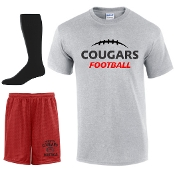 Noe Middle Football Player Pack full set Sport Gray
