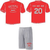 OCYFL Bucs Player pack shirt and shorts ST 350/355