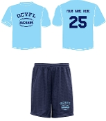 OCYFL Jaguars Player pack shirt and shorts ST 350/355
