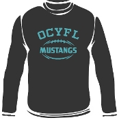 OCYFL Mustangs long sleeve t G540