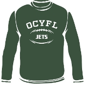OCYFL Jets Long Sleeve T shirt G540