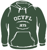 OCYFL Jets Hooded sweatshirt G185