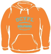 OCYFL Dolphins Hooded sweatshirt G185