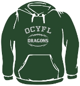 OCYFL Dragons Hooded sweatshirt G185