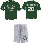 OCYFL Dragons Player pack shirt and shorts ST 350/355
