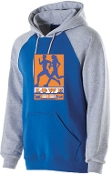 Lowe XC Men's and Boys Royal Banner Hoodie Holloway 229179