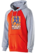 Lowe XC Men's and Boys Orange Banner Hoodie Holloway 229179