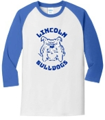 Lincoln XC 3/4 Raglan sleeve  YOUTH T shirt PC55YRS