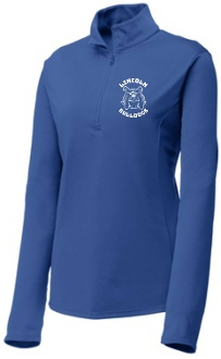 Lincoln XC Ladies 1/4 zip LST357