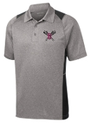 Ballard LAX Mens Heather Contender polo ST665