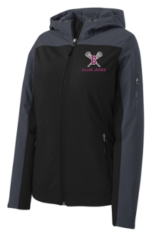 Ballard Lacrosse LADIES Hooded soft shell Jacket L335