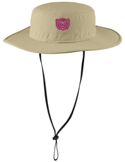 Ballard Lacrosse embroidered Stone bucket hat C920
