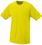 St Albert 2017 Basketball Power Yellow undershirt