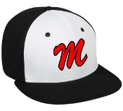 Meyzeek Middle School Black white hat TGS1930X