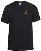 Louisville Youth Orchestra Black t shirt G8000