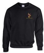 Louisville Youth Orchestra Black Crewneck sweatshirt G18000