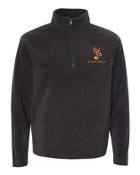 Louisville Youth Orchestra Black 1/4 zip fleece 9630