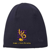 Louisville Youth Orchestra Black NE900 Beanie