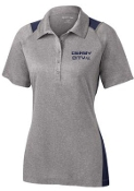 Derby City AC Heather Contender Ladies polo LST665