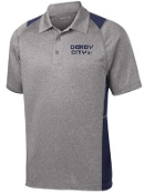 Derby City AC Mens Heather Contender polo ST665