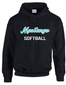 North Oldham Lady Mustangs Hooded sweatshirt 50/50 blend G18500